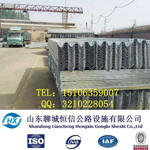 厂家直销高速道路防撞 喷塑护栏板 波形护栏板 二波护栏板  护栏板示例图11
