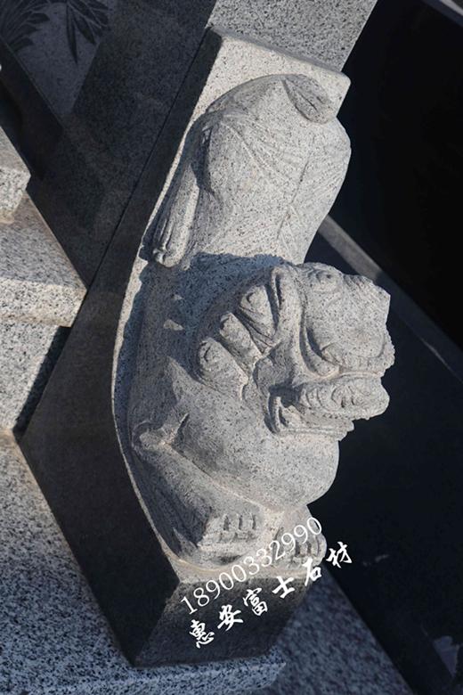 福建墓碑厂家直销瓦盖传统墓碑 定制墓碑造型 批发量大价格优惠示例图10