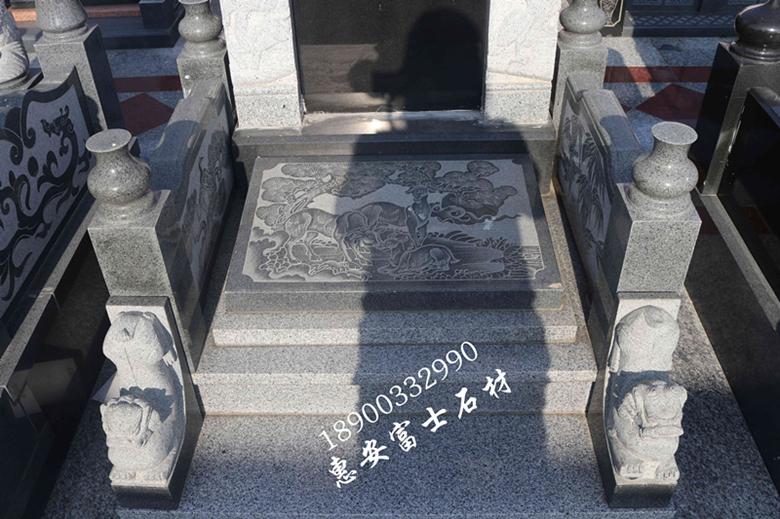 福建墓碑厂家直销瓦盖传统墓碑 定制墓碑造型 批发量大价格优惠示例图11