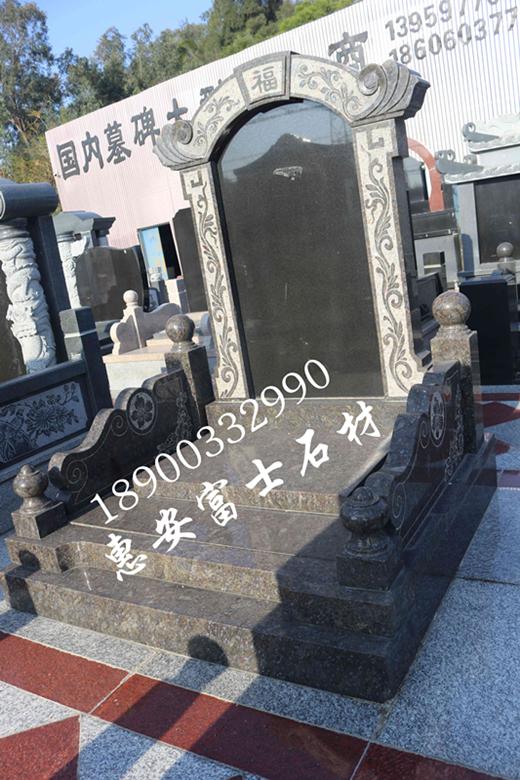 專業生產國內墓碑30年,各式傳統墓碑藝術墓碑豪華墓碑均可定製示例圖1