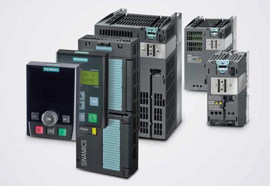 西门子变频器G120系列功率模块6SL3210-1PE24-5UL0控制单元6SL3244-0BB12-1BA1示例图1