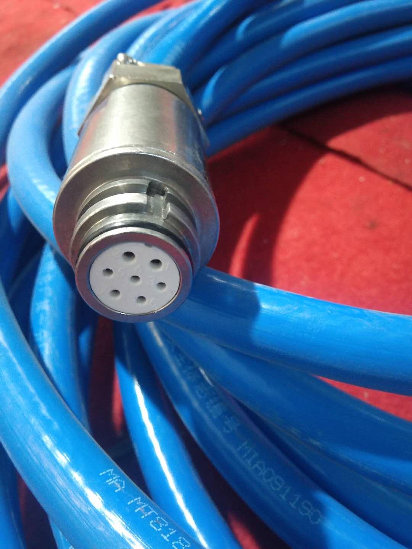 矿用本安型拉绳急停扩音电话连接线 矿用扩音电话连接线 矿用急停扩音电话线示例图1