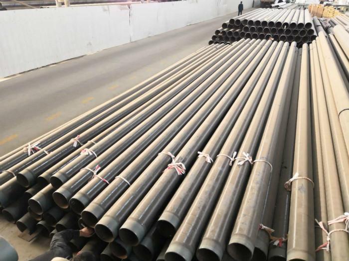 TPEP钢管 3pe钢管 3PE螺旋钢管的使用寿命可以在50年左右示例图4