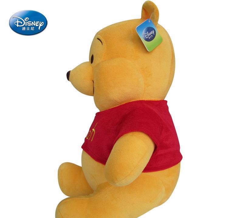 迪士尼授权毛绒玩具熊熊公仔维尼小熊形态创超级动搞笑玩偶图v形态图片