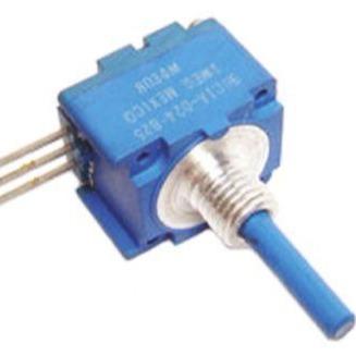 91A1AB28B17L 25k音频电位器 ±20% 线性 0.5W, 6.35 mm 直径轴图片