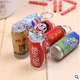 X105创意文具 王老吉 可乐饮料伸缩易拉罐圆珠笔 厂家定做特价图片