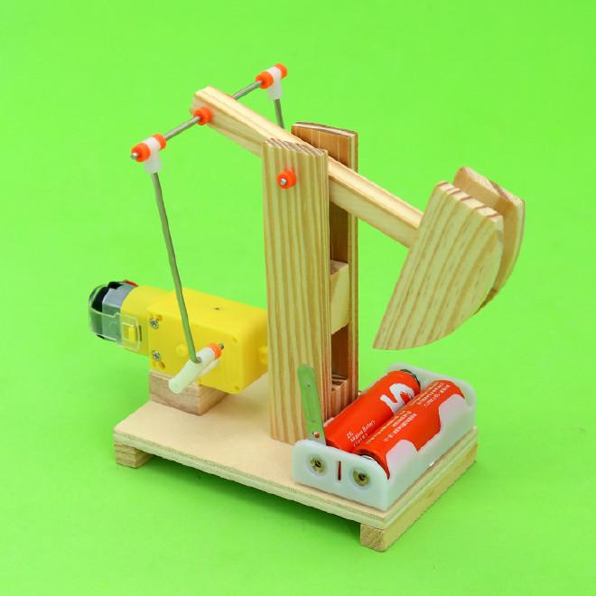 手工制作大全图片油田磕头机_油田磕头机的立体手工制做步骤