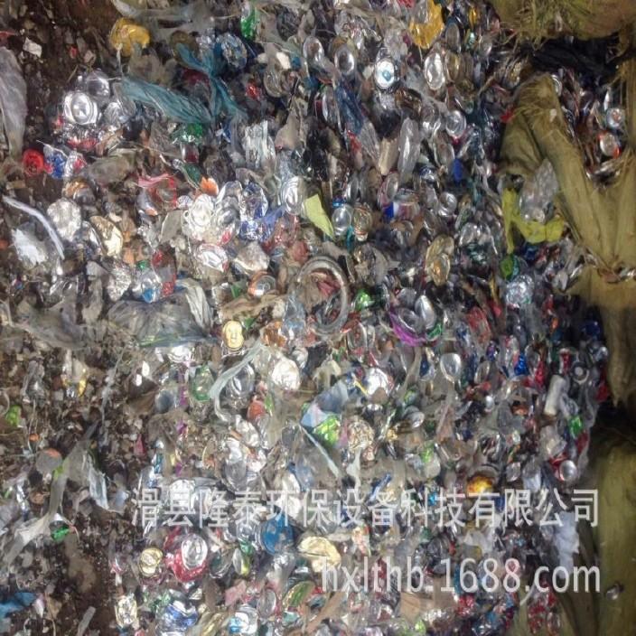 隆泰易拉罐分选机 易拉罐分选塑料 易拉罐金属分离设备图片