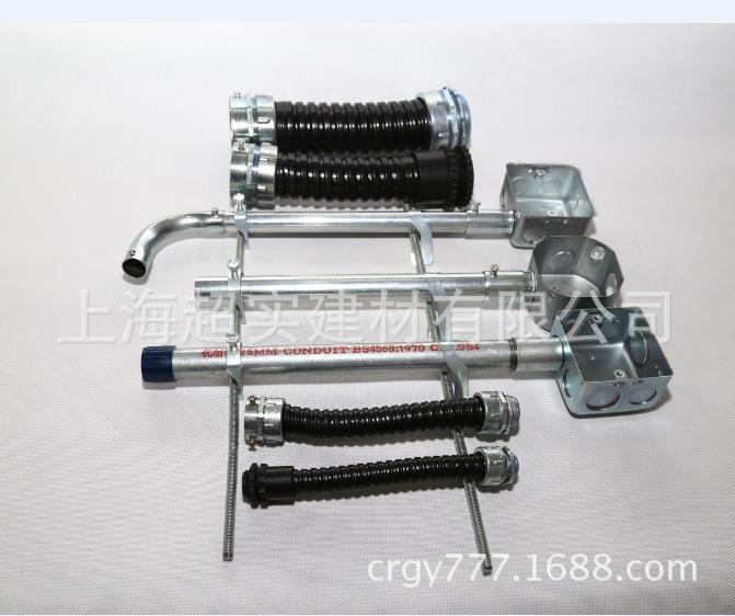 16包塑金属软管 蛇皮穿线管 波纹管厂家批发示例图8