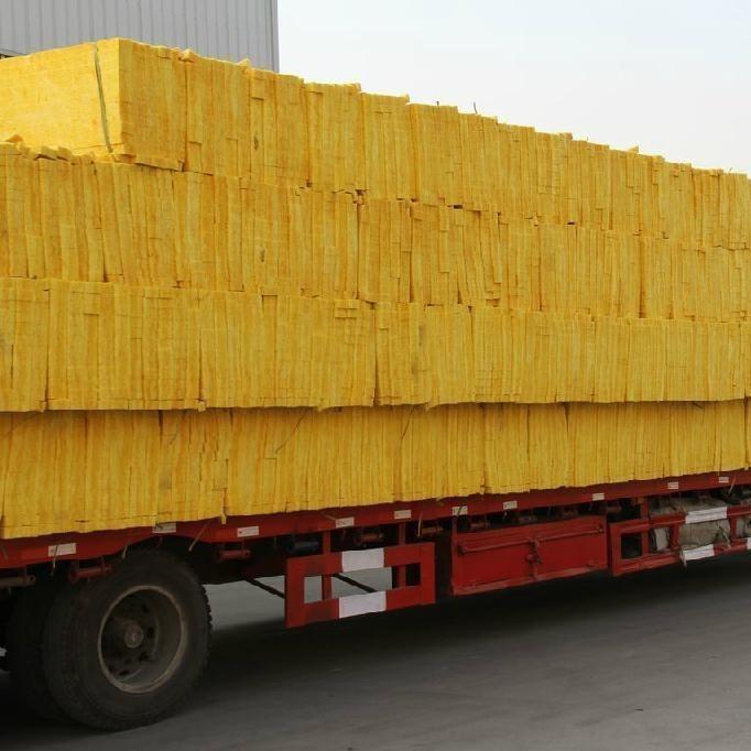 憎水型玻璃棉板生产厂家 离心高密度外墙屋顶保温材料 大城县玻璃棉