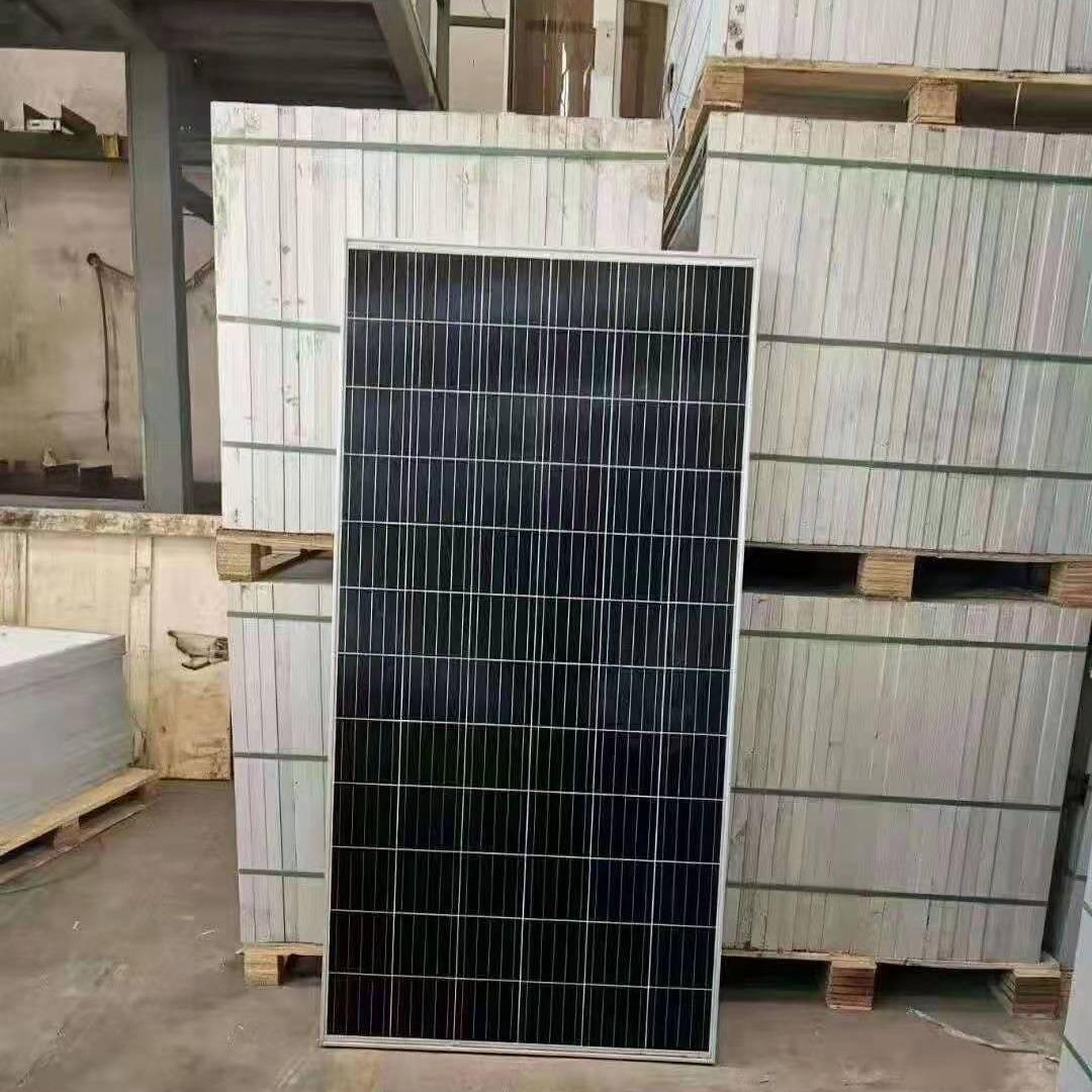 拆卸二手太阳能板回收 电站淘汰光伏板回收处理  厂家高价收购