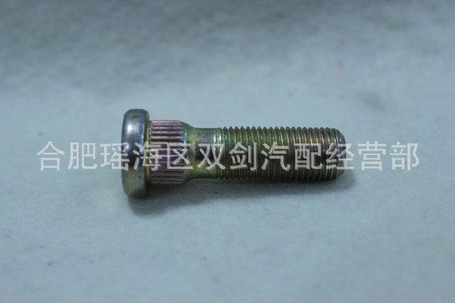 加工定制 轮胎螺丝螺栓 普通轮胎螺丝 机械镀锌轮胎滚花螺丝批发
