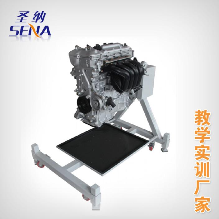 迈腾汽油发动机拆装实训台 发动机拆装翻转架 发动机拆装台架