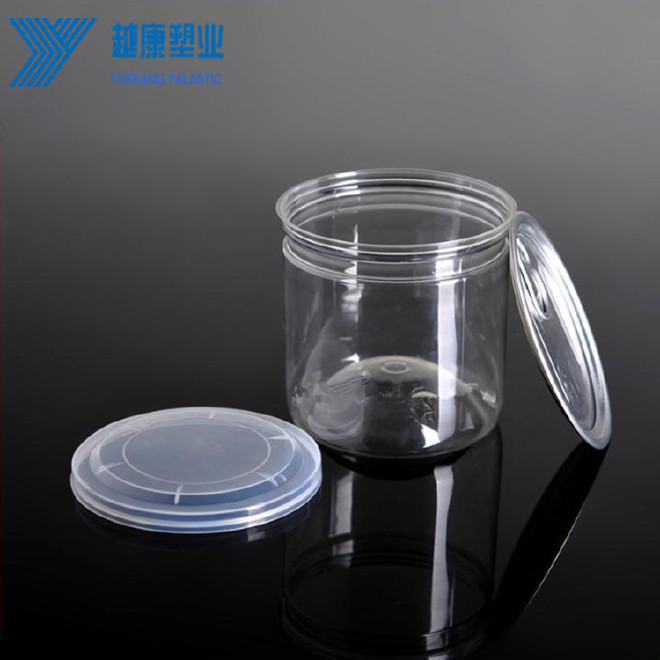 PET透明塑料罐加厚型 85*85 塑料易拉罐塑料瓶厂家 包装瓶图片