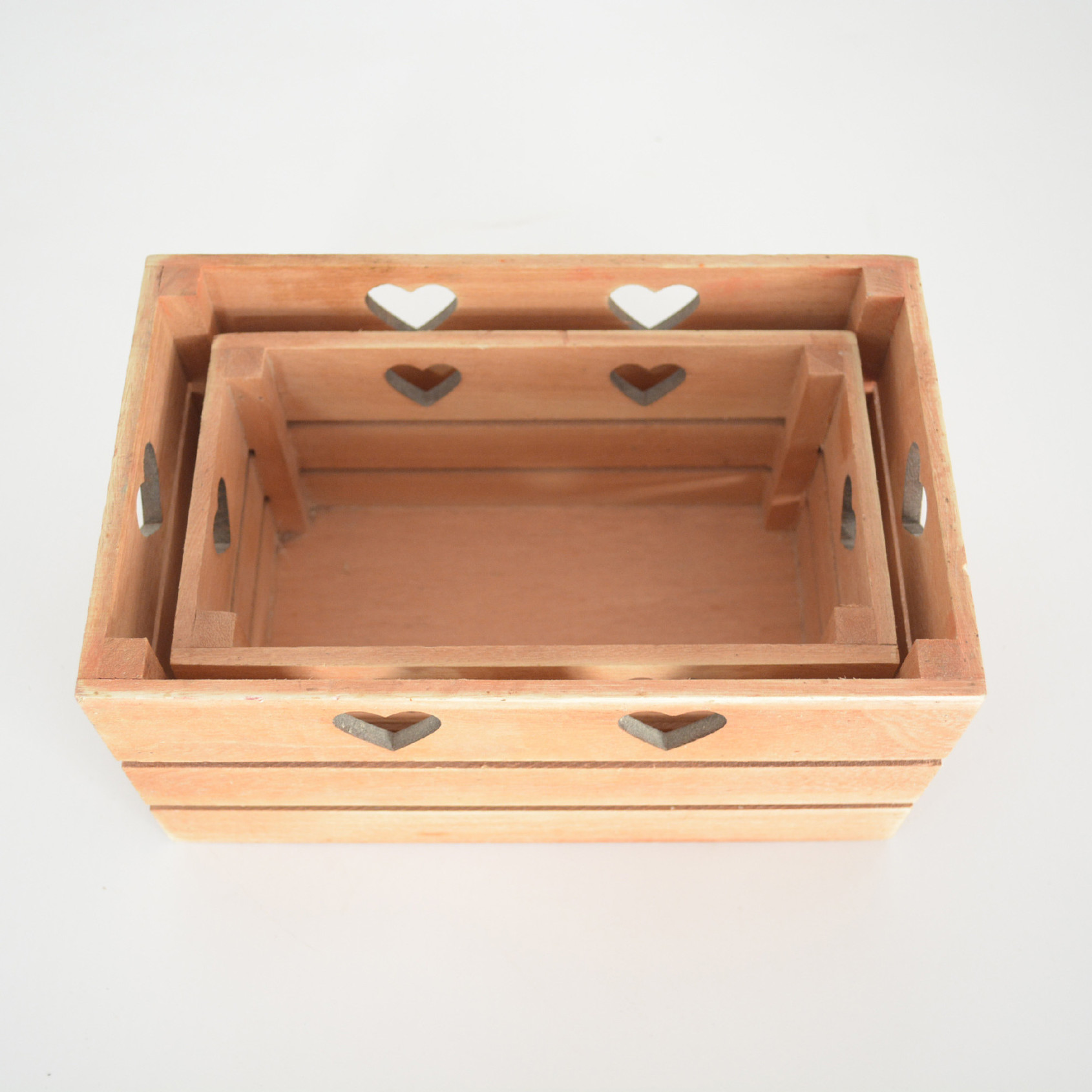 直销蔬菜置物木筐 家庭实用品手把式zakka木制水果收纳筐