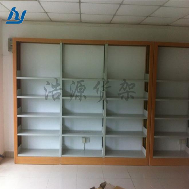 书架 学校图书馆书架 双柱双面书架 钢制书架 厂家直销