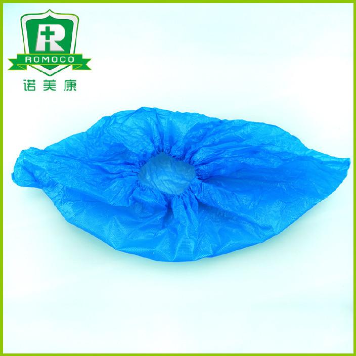厂家供应 防水一次性CPE鞋套 塑料保洁防滑鞋套