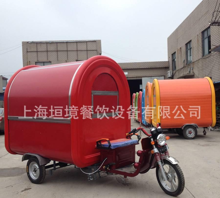 美食直销台湾美食排凉粉车手抓饼厂家车家乡的快餐炸鸡煎饼400字图片