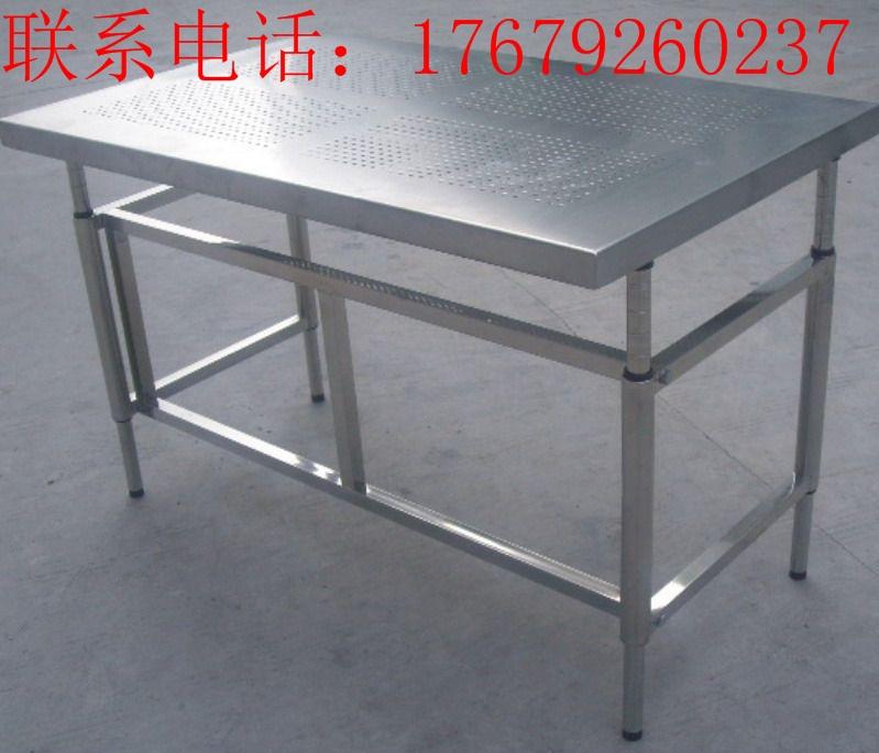 奥瑞斯工业设备有限公司定做各类尺寸的不绣钢工作台 量大价格从优