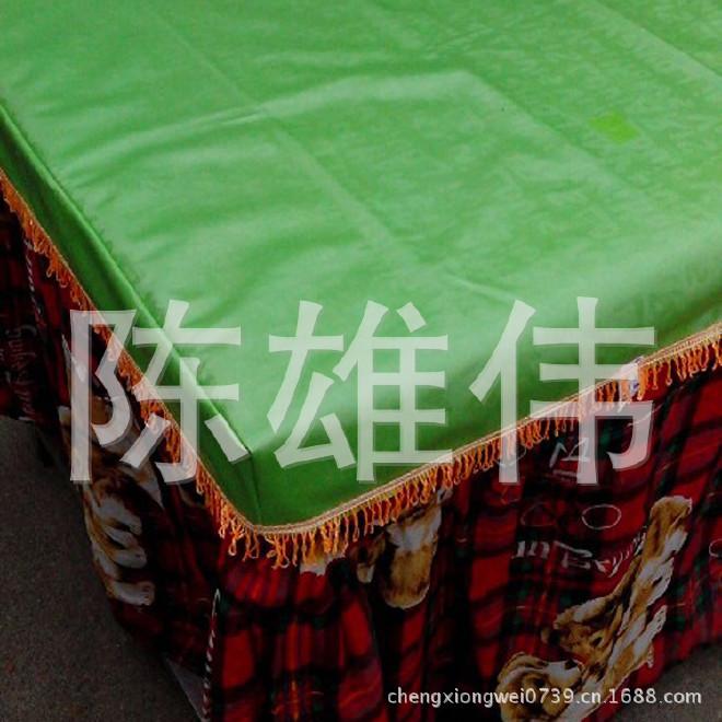 厂家生产 电取暖桌皮革桌罩 电烤桌套 正方形考火桌套示例图4
