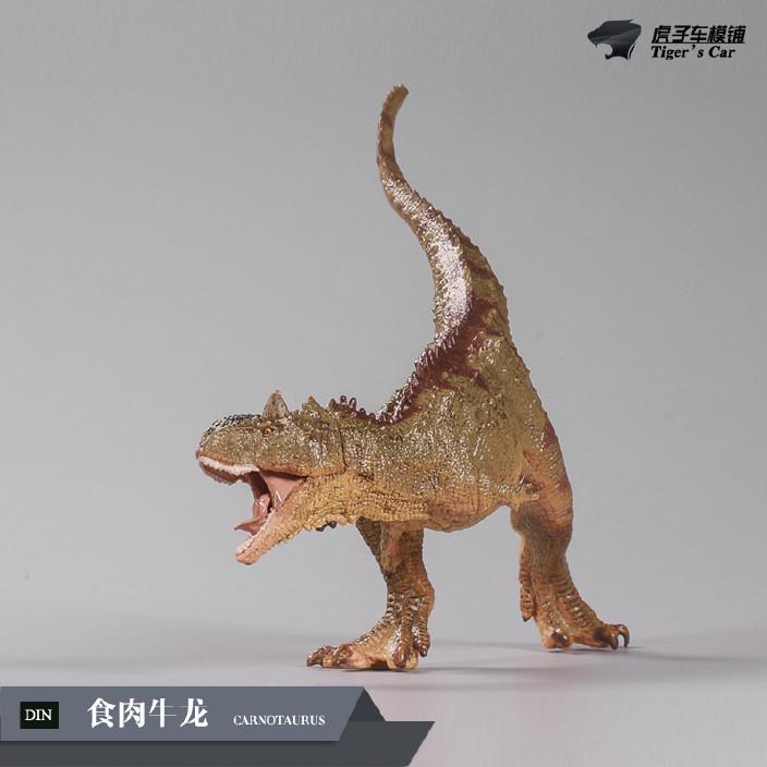 食肉牛龙思乐同款恐龙手办模型 部分关节可活动 侏罗纪世界图片