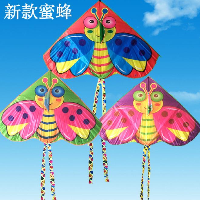 潍坊图纸卡通风筝风筝2018新款蜜蜂风筝f33003300ledce3232ff330032330032儿童图片