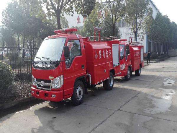 乡镇社区2.5吨轻型消防车,农村消防车图片