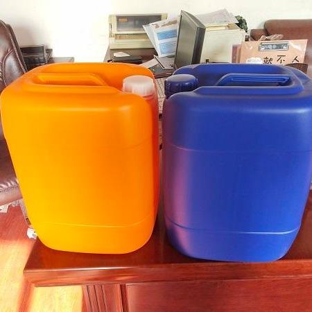 全新料25升塑料桶_25公斤橘黄色塑料桶