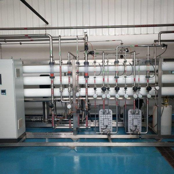 反滲透純凈水設備 10t雙級反滲透設備  反滲透設備帶路環保廠家