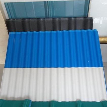 厂家定制别墅树脂瓦 海蓝色塑钢瓦  砖厂化工厂煤场用品尚防腐瓦
