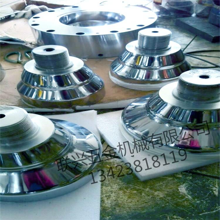 吹膜機膜頭模具三層共擠兩層共擠模頭模具骨袋機模頭風環廠價直銷