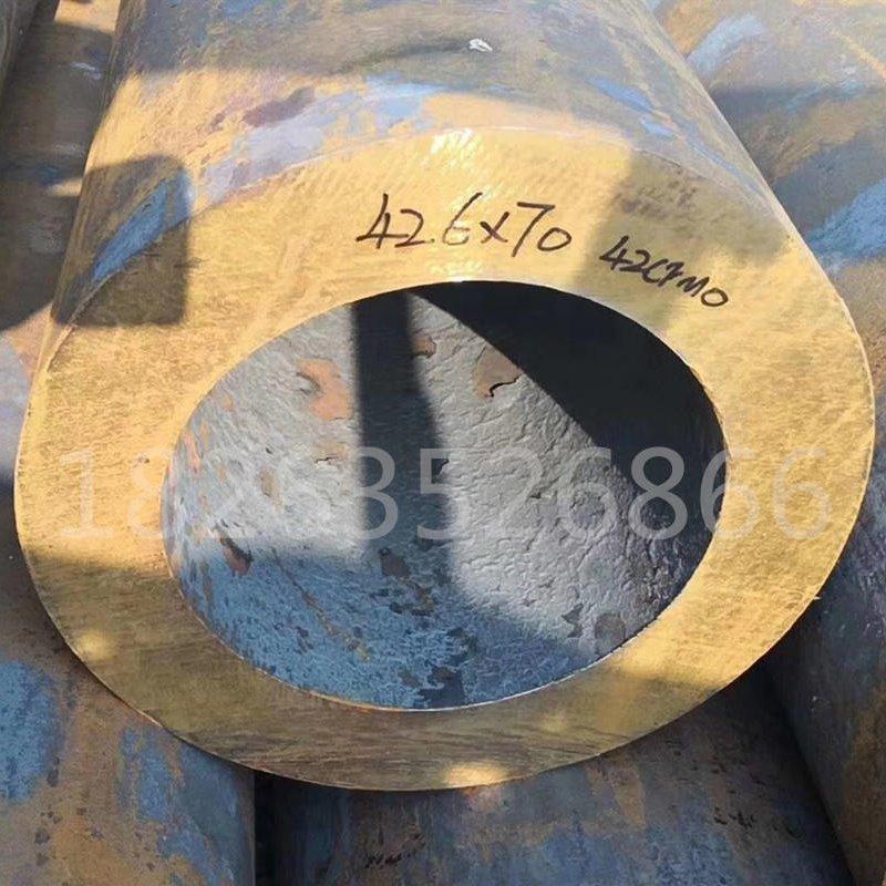 厂家批发42crmo大口径厚壁无缝钢管 冷拔小口径薄壁精轧无缝管 40c精密制造业用精密无缝钢管 耐磨耐高温定做加工零分分快3平台