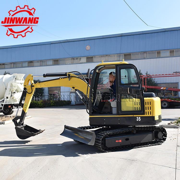 地下室回填用小型挖挖機 小型挖掘機底盤 農用小挖機價格 挖掘機配件質保圖片