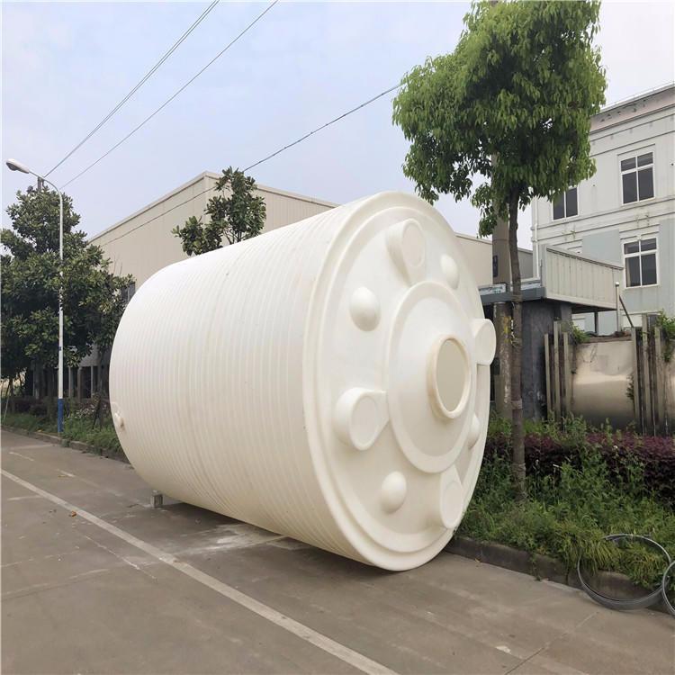 南通供应25000升塑料水箱 25吨大型中间水箱 25立方PE清洗水箱 祥盛牌