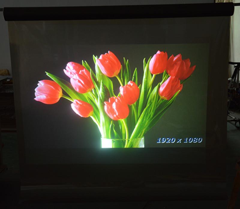 厂家直销HPLD投影膜炭黑投影膜背投膜全息投影全息投影 高清背投示例图6