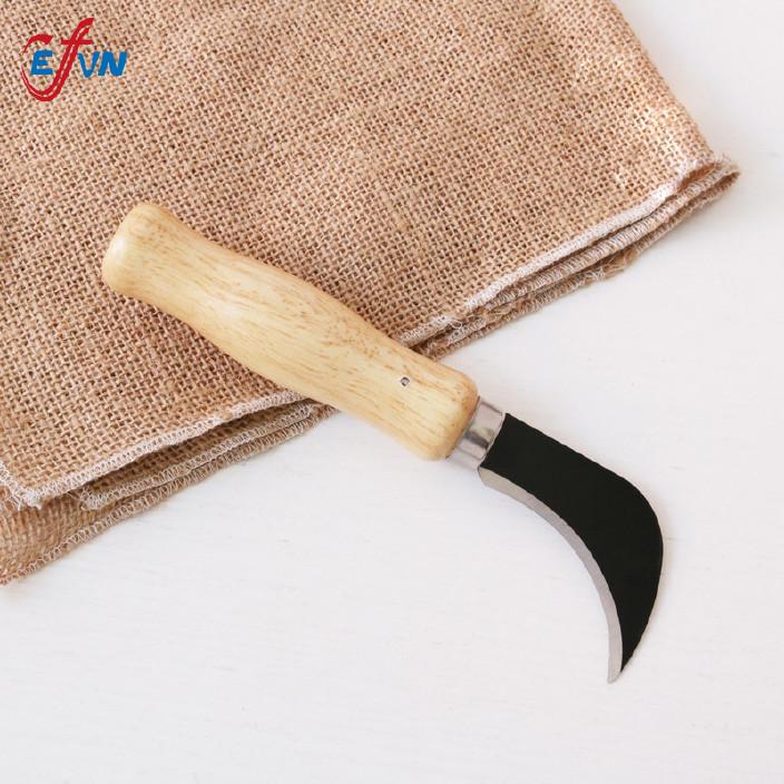 厂家直销 户外迷你弯刀镰刀 割草刀 蘑菇刀 农用刀具园林绿化勾刀图片