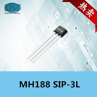 高压双极锁存性霍尔开关MH188电机驱动芯片图片
