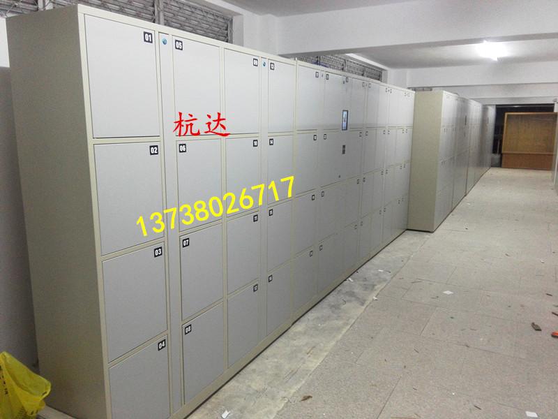 公司刷卡联网电子更衣柜杭州第九中学校联网书包柜储物柜示例图9