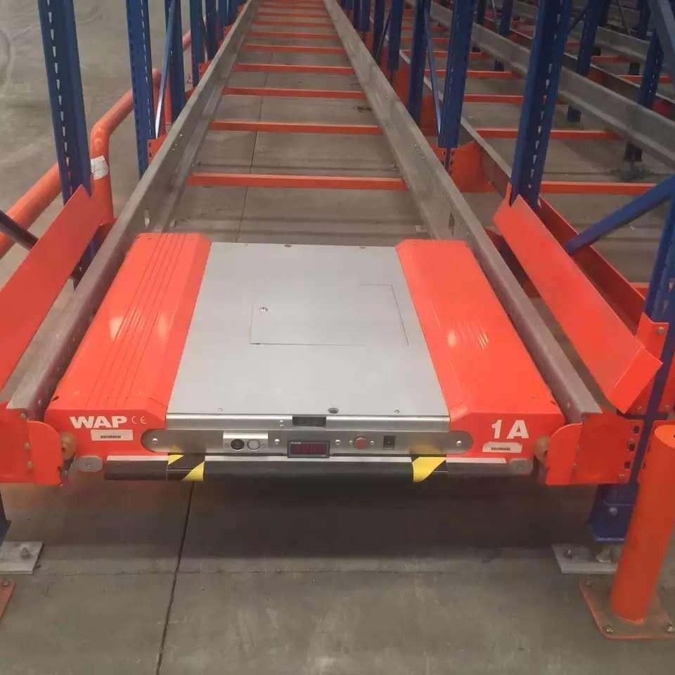 重型貨架倉儲   橫梁式 重型貫通式  貨架駛入式穿梭車貨架