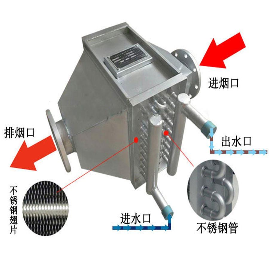 安徽锅炉烟气余热回收;锅炉烟气冷凝器:烟气余热回收换热器合肥宽信厂家直销