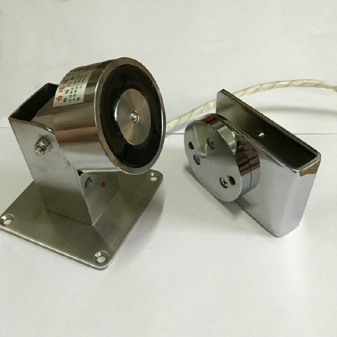 熱銷供應DC-09-2玻璃門吸 鋅合金電磁門吸 防火門聯動電磁門吸