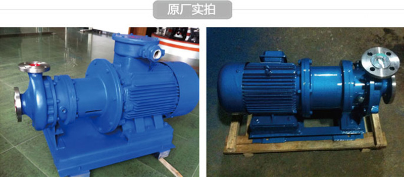 CQB50-32-160P不锈钢磁力泵 全封闭 无泄漏 防爆磁力泵 厂家直销示例图16