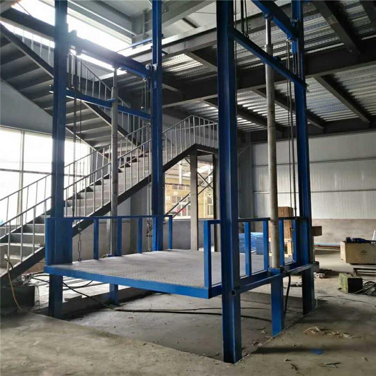 固定式升降机 导轨式升降货梯  液压升降货梯  液压升降平台   安诚升降机械