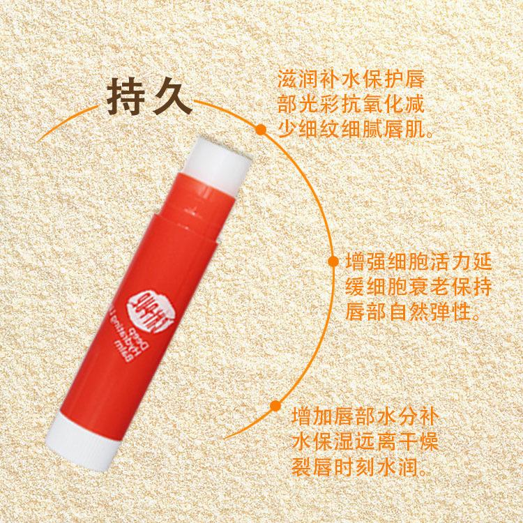 2018新款天然保湿修护润唇膏口味无色唇膏补水保湿滋润一件代发示例图10