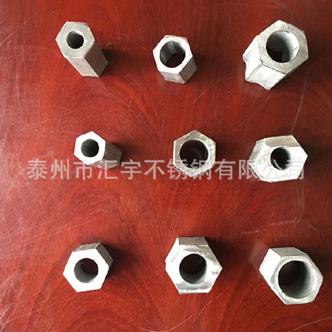 厂家热销304不锈钢六角管 空心201不锈钢异型管 抛光不锈钢椭圆管