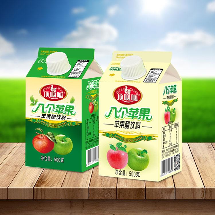 广东OEM加气苹果醋饮料代加工生产厂家伊之伴示例图2