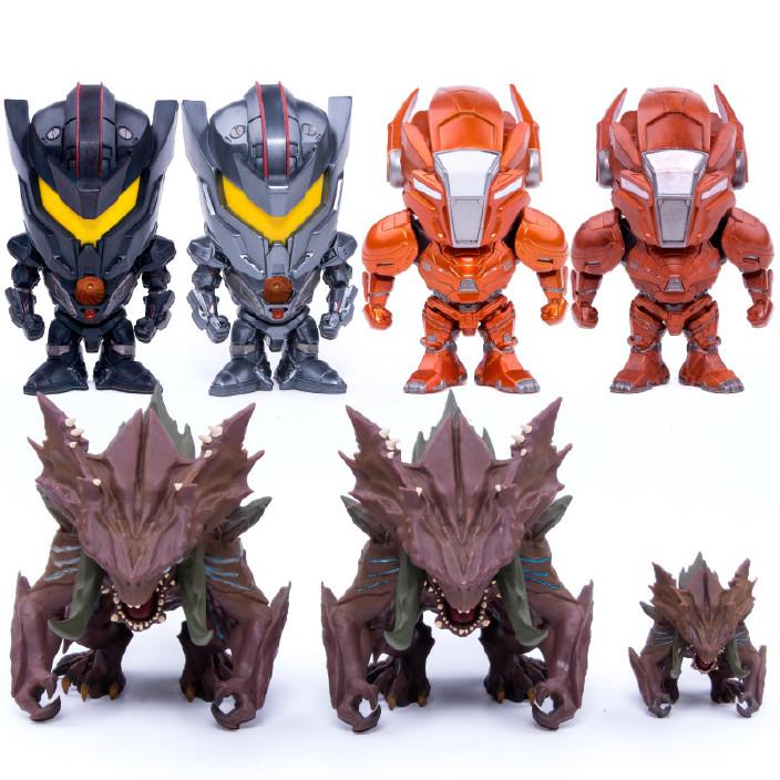 环太平洋2超级怪兽雅典娜复仇流浪者4寸手办模型公仔摆件玩具图片