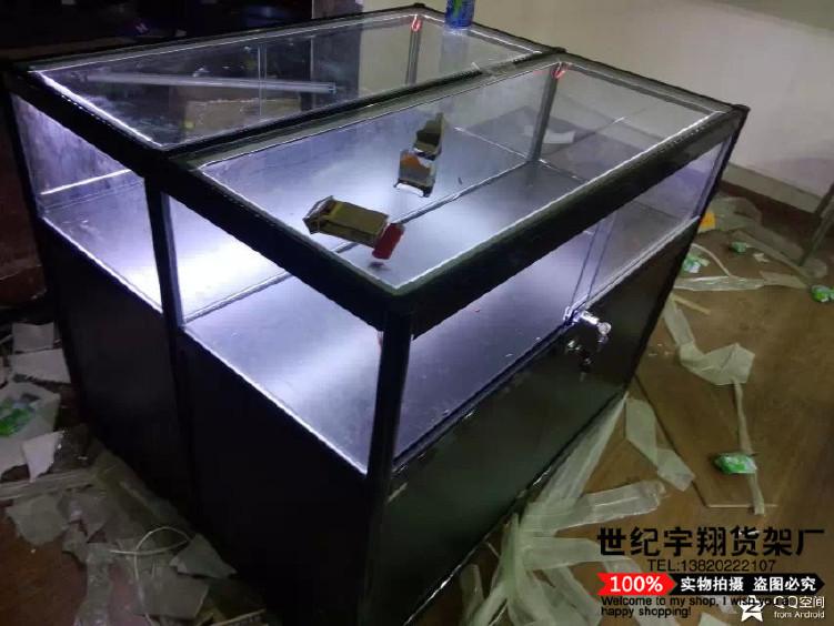天津特价促销手机柜台 饰品柜 精品展示柜 柜台中岛柜批发