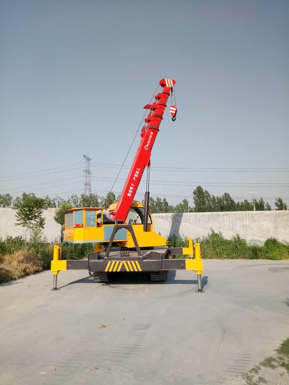 小型履帶式起重機 鋼制履帶吊車 廠家直銷 5噸履帶吊車