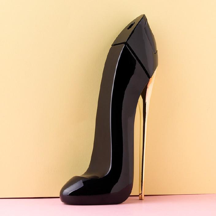 GH女孩香水goodgirl好视频性感丝袜高跟鞋女品牌性感美女的正品黑图片